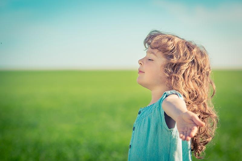 Respiração profunda - Relaxamento para crianças
